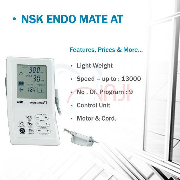 اپکس روتاری NSK مدل Endo Mate AT